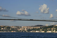 Bosphorus bridge, Istanbul Royalty Free Stock Image