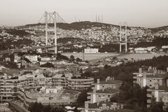 Bosphorus bridge, Istanbul Stock Photography