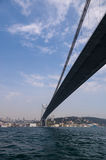 Bosphorus Bridge in Istanbul Stock Photo