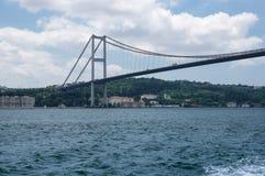 Bosphorus bridge in Istanbul Stock Photography