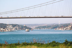 Bosphorus Bridge Ä°stanbul Royalty Free Stock Photography