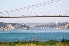 Bosphorus Bridge İstanbul Royalty Free Stock Photography