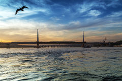Bosphorus Bridge Royalty Free Stock Images