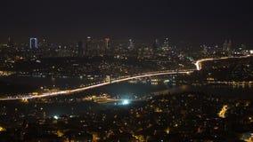 Bosphorus Bridge, istanbul stock video