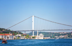 Bosphorus Bridge, Istanbul Royalty Free Stock Photos