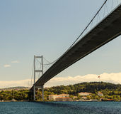 Bosphorus bridge, Istanbul, Turkey Stock Images