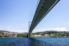 Bosphorus bridge in Istanbul, Turkey. Bosphorus bridge in Istanbul, Turkey Royalty Free Stock Images