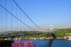 Bosphorus bridge in Istanbul Turkey Stock Photo