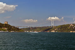 Bosphorus bridge, Istanbul, Turkey Stock Photography
