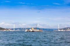 The Bosphorus Bridge Royalty Free Stock Images