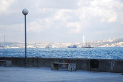 A view of Bosphorus Stock Photo
