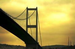 Bosphorus bro Royaltyfri Bild