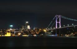 Bosphorus bro Arkivfoton