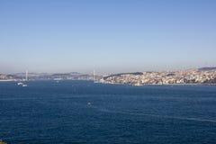 Bosphorus cieśnina, Turcja Obraz Stock