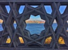 Bosphorus cieśnina w ramie Zdjęcia Stock