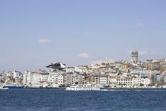 Bosphorus Cityscape Stock Photography
