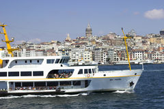 Bosphorus Cityscape Royalty Free Stock Images
