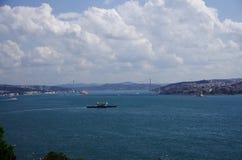 Bosphorus a Costantinopoli immagini stock libere da diritti