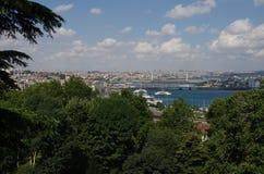 Bosphorus a Costantinopoli fotografie stock