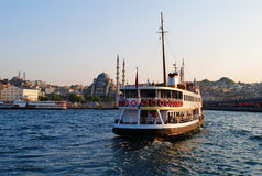 Bosphorus Cruise Royalty Free Stock Photo