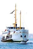 Bosphorus Cruise. Passenger ferry on the Bosphorus, Istanbul Royalty Free Stock Photo
