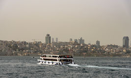 Bosphorus cruise in Istanbul Stock Images