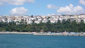 Bosphorus de Uskudar Fotografia de Stock Royalty Free