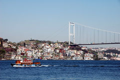 Bosphorus e Istambul Turquia Imagem de Stock