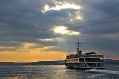 Bosphorus em Istambul, Turquia Imagem de Stock Royalty Free