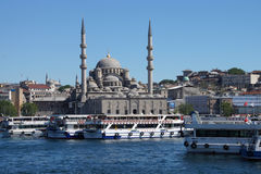 Bosphorus ferry carries tourists and commuters Royalty Free Stock Photography