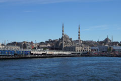 Bosphorus ferry carries tourists and commuters Stock Photo