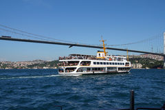Bosphorus ferry Royalty Free Stock Photo