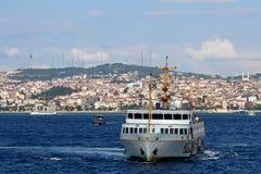 Bosphorus i Istanbul, Turkiet arkivbild