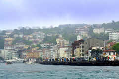 Bosphorus invallning Istanbul Royaltyfria Bilder