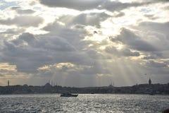 Bosphorus Istanboel, Turkije stock foto