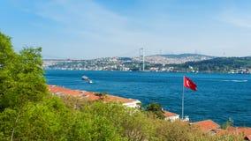 Bosphorus Istanboel Turkije Stock Foto's