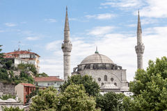 Bosphorus Istanbuł Dziejowy Buidlings Obrazy Stock