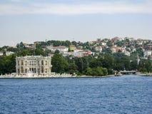 Bosphorus Istanbuł Dziejowy budynek Zdjęcia Stock
