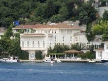 Bosphorus Istanbuł Dziejowy budynek Zdjęcia Royalty Free