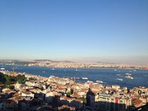 Bosphorus, Istanbul Lizenzfreies Stockbild