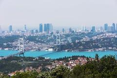 bosphorus istanbul Royaltyfri Bild