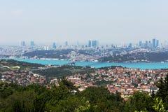 bosphorus istanbul Fotografering för Bildbyråer