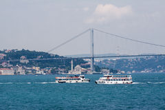 Bosphorus Istanbul Royalty Free Stock Photography