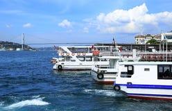 Bosphorus, istanbul royalty free stock photos