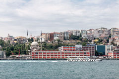 Bosphorus Istanbul Historical Buidlings Stock Images