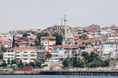 Bosphorus Istanbul Historical Buidlings Royalty Free Stock Photography