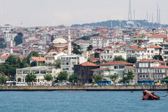 Bosphorus Istanbul Historical Buidlings Stock Image