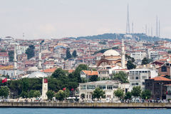 Bosphorus Istanbul Historical Buidlings Stock Photos