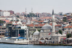 Bosphorus Istanbul Historical Buidlings Stock Photography