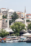 Bosphorus Istanbul Historical Buidlings Royalty Free Stock Images